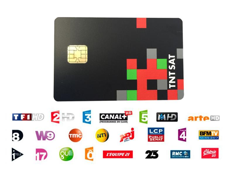 TNTSAT Smartcard HD Viaccess über Astra 19,2° French TV