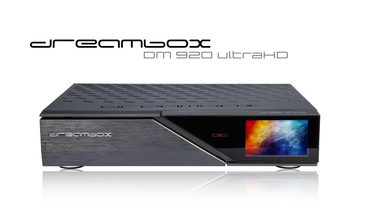 Dreambox DM920 UHD 4K 1x DVB-S2 FBC / 1x DVB-C FBC Tuner E2 Linux PVR Receiver