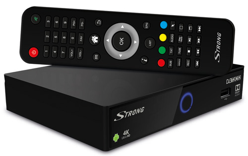 Strong SRT 2402 Hybrid UHD Android Receiver