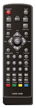 LogiSat 55 HD Fernbedienung