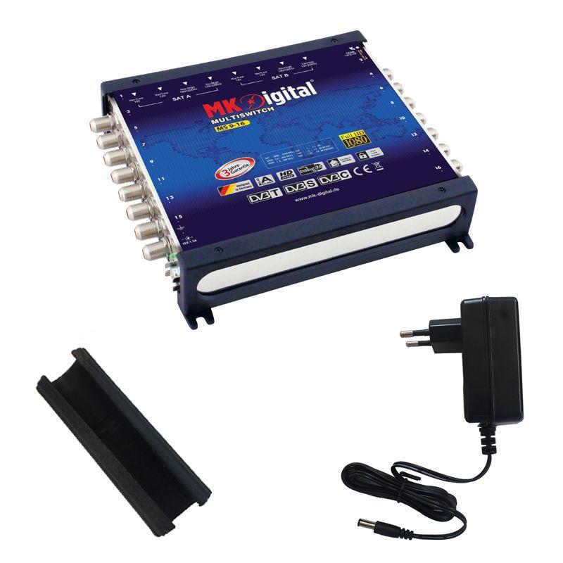 MK-Digital MS 9-16 Multischalter mit LED Kontrollleuchte