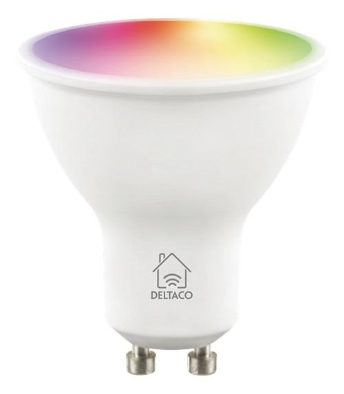 Deltaco SH-LGU10RGB SMART Home GU10 RGB LED Lampe