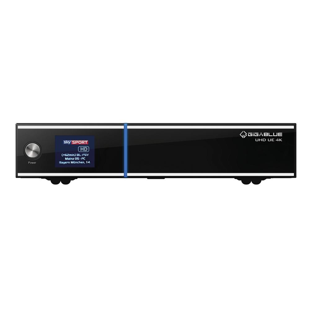 Gigablue UE UHD 4K 1x DVB-C FBC Tuner E2 Linux Receiver PVR ready