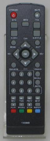 Fernbedienung LogiSat 1100 HD