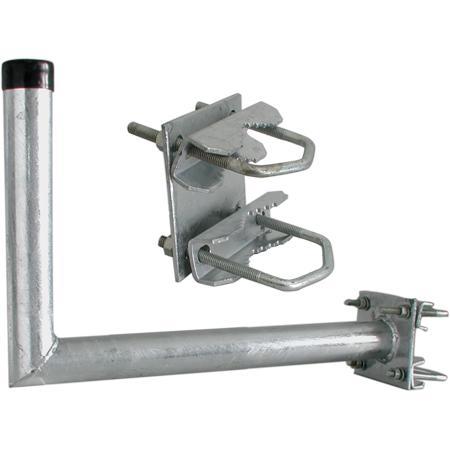 Wandhalter mit Zahnschelle 45cm Stahl feuerverzinkt TÜV WZ5045