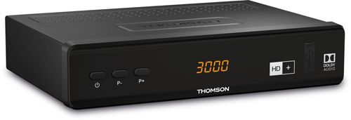 THOMSON THS 844 SAT Receiver DVB-S 2 inkl. HD+ 6 Monate HDMI