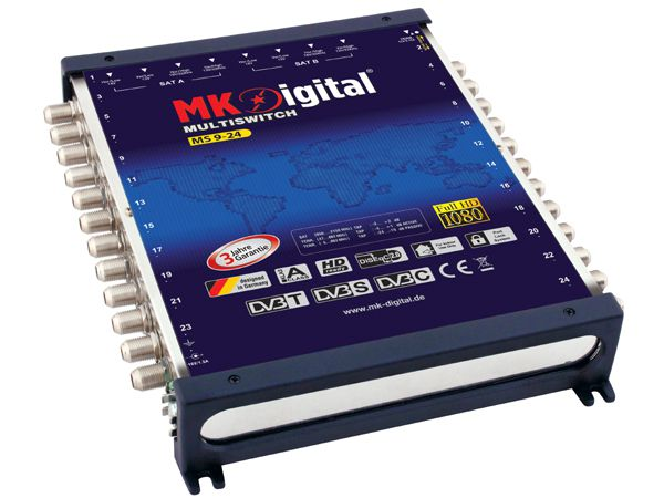 MK-Digital MS 9-24 Multischalter mit LED Kontrollleuchte