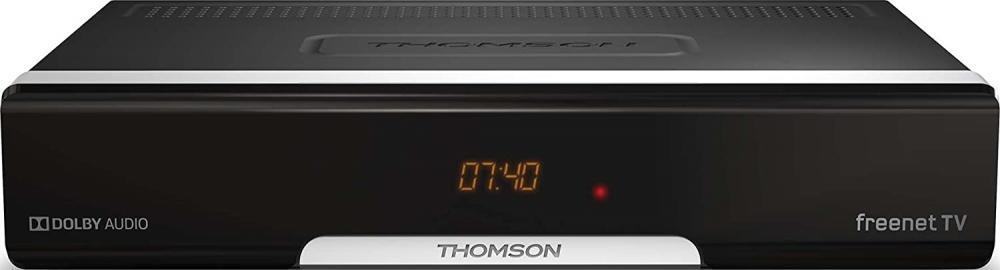 THOMSON THT740 HD DVB-T2 Receiver freenet TV HDMI SCART USB LAN irdeto