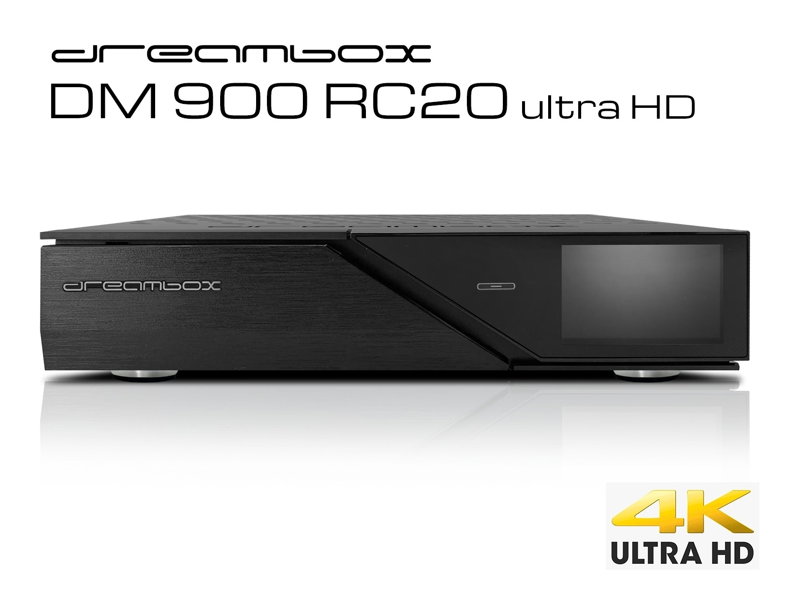 Dreambox DM900 RC20 UHD 4K 1x DVB-S2 FBC Twin Tuner E2 Linux PVR Receiver