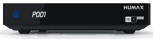 Humax HD-FOX Twin SAT-Receiver inklusive 6 Monate HD+ Karte