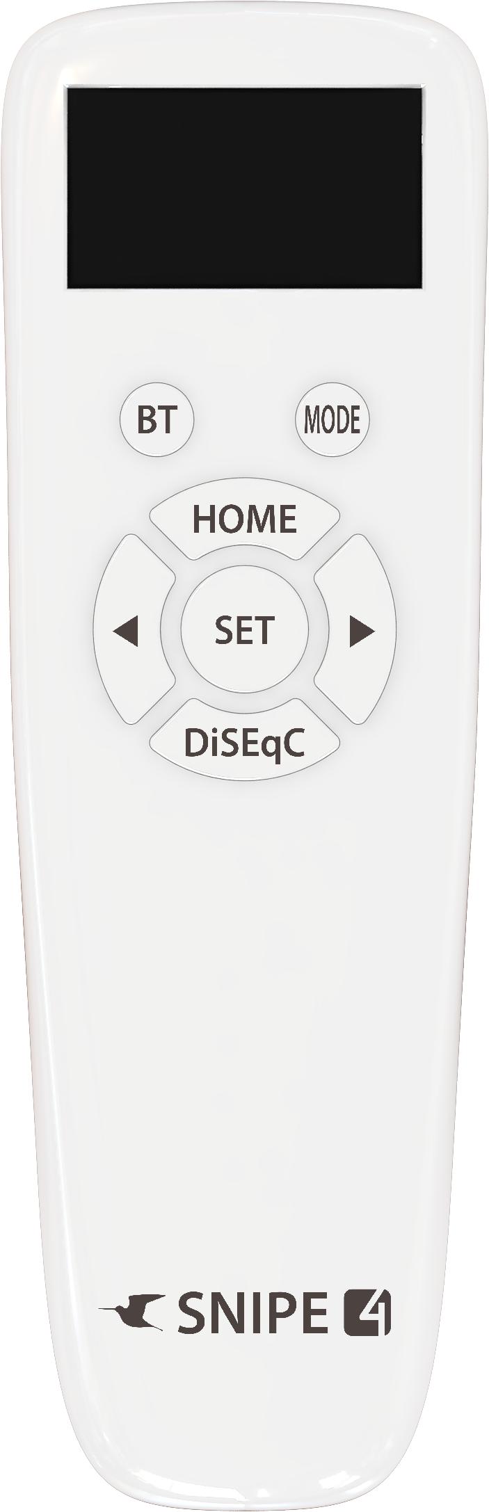 Selfsat SNIPE 4 - Twin - Mit Bluetooth Fernbedienung und iOS / Android Steuerung