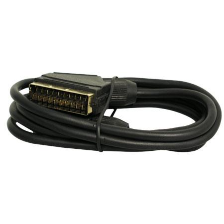 Scart-Kabel 1,5m vergoldet