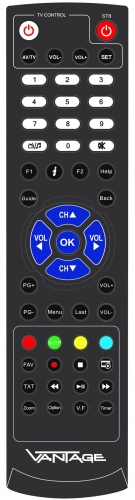 Vantage VT-55 HD+ SAT-Receiver inklusive HD+ Karte, Einkabeltauglich, LAN-fähig