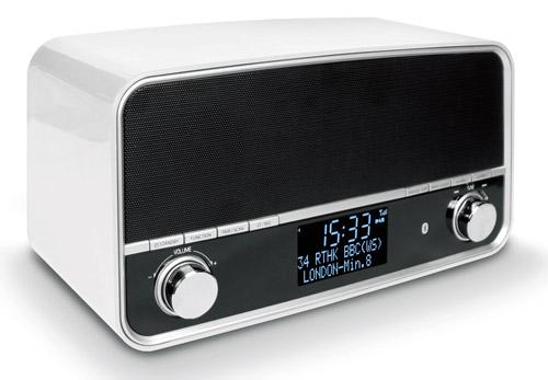 DAB 51W - Weiss - DAB BT Retro Radio