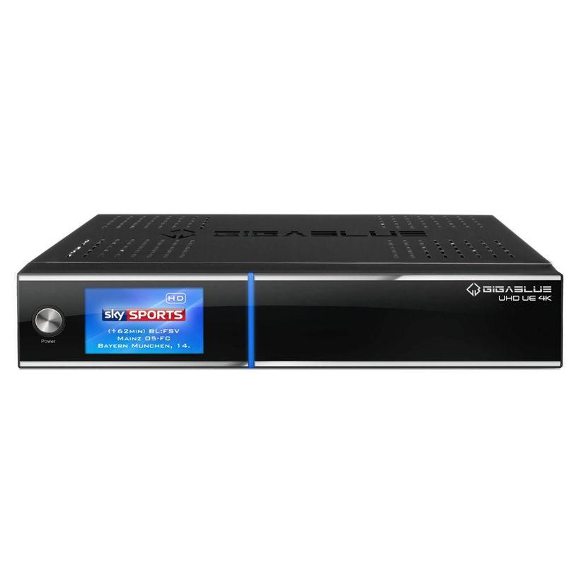 Gigablue UE UHD 4K 1x DVB-S2 FBC Twin 1x DVB-C/T2 Dual E2 Linux Receiver