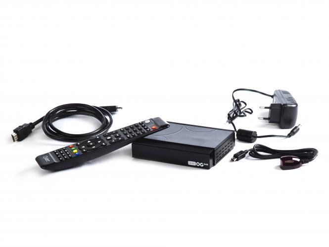 Qviart OGs 4K LINUX 4K DVB-S2 Receiver Multistream UHD H.265 OTT IPTV Player