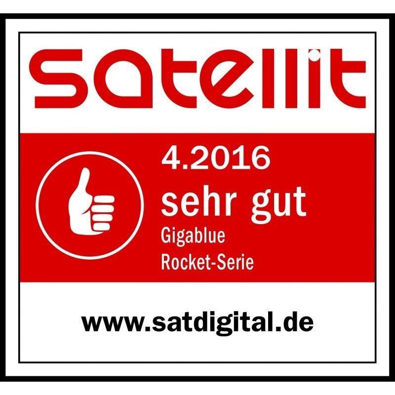Gigablue Rocket Quattro Multifeed LNB 40mm Feed 0.1dB Full HD