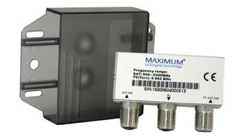 Maximum SAT-TV Combiner