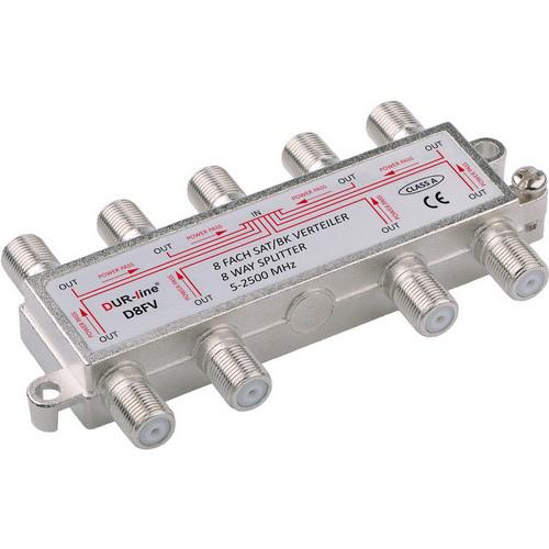 DUR-line BK-SAT- 8-fach Verteiler - Unicable tauglich